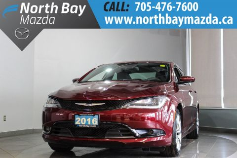 Pre-Owned 2016 Chrysler 200 S with Leather, Mfr. Warranty Remaining!