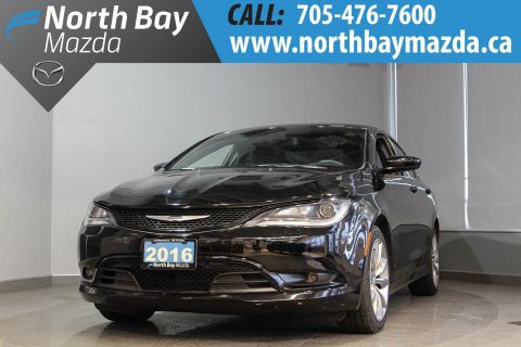 Pre-Owned 2016 Chrysler 200 S with Heated Seats, Bluetooth, Backup Camera