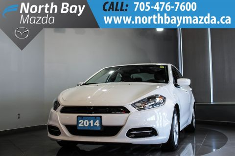 Pre-Owned 2014 Dodge Dart SXT Manual with Winter Tires and Free Storage!