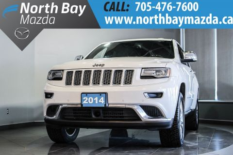 Certified Pre-Owned 2014 Jeep Grand Cherokee Summit 4X4  - New Brakes and Plenty of Features! 4WD