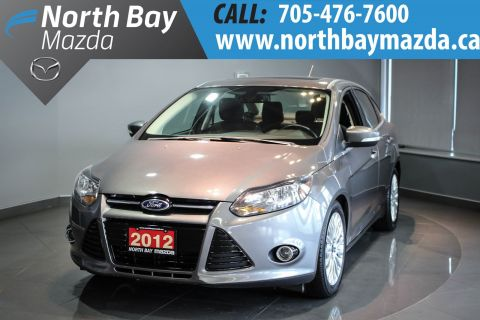 Pre-Owned 2012 Ford Focus Titanium Sunroof + Alloy Wheels + I4 2.0L Engine FWD 4dr Car