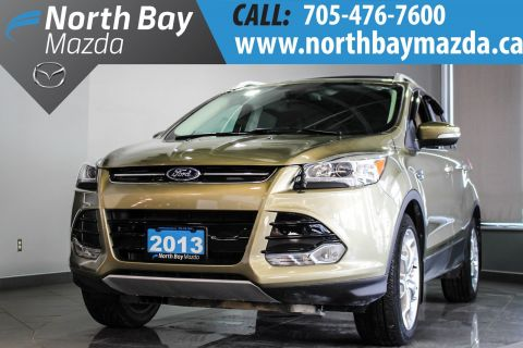 Certified Pre-Owned 2013 Ford Escape Titanium Heated Front Seats + Power Driver Seat + Dual Zone Climate 4WD