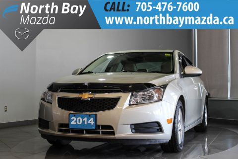 Pre-Owned 2014 Chevrolet Cruze 2LT $66 Weekly OAC with Winter Tires and Free Storage!