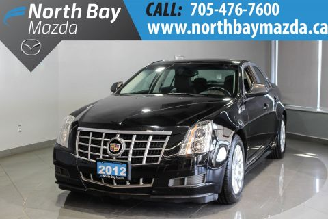 Certified Pre-Owned 2012 Cadillac CTS 3.0L V6 Engine + Winter Tires Included!! RWD 4dr Car