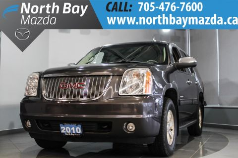 Pre-Owned 2010 GMC Yukon SLT 4X4 with 7 Passenger, DVD, Leather, Bluetooth 4WD
