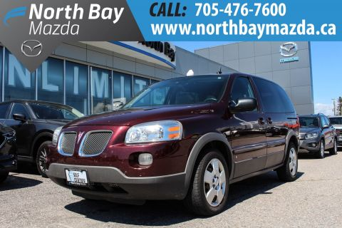 Pre-Owned 2009 Pontiac Montana Self Certify with Winter Tires FWD Mini-van, Passenger