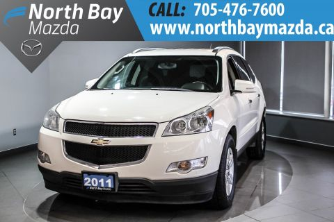 Certified Pre-Owned 2011 Chevrolet Traverse 1LT 8 Passenger + 136 BIWEEKLY AWD
