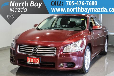 Pre-Owned 2013 Nissan Maxima 3.5 SV Leather Interior + Heated Steering Wheel + Sunroof FWD 4dr Car