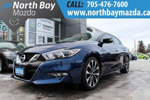 Certified Pre-Owned 2016 Nissan Maxima SR BEST PRICED IN CANADA - WINTER TIRES INCLUDED - $199 BIWEEKLY FWD 4dr Car