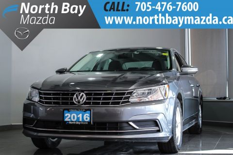 Certified Pre-Owned 2016 Volkswagen Passat 1.8L TSi Trendline Plus with New Brake Pads and Rotors FWD 4dr Car