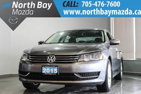 Pre-Owned 2015 Volkswagen Passat 1.8L TSI Comfortline Pkg for Trendline Pkg Pricing! FWD 4dr Car