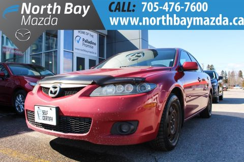 Pre-Owned 2007 Mazda 6 Self Certify FWD 4dr Car