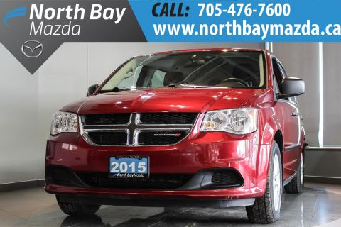 Certified Pre-Owned 2015 Dodge Caravan Low Mileage + Stow'n'Go Seats + Cruise Control FWD Mini-van, Passenger