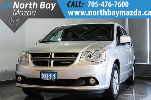 Certified Pre-Owned 2011 Dodge Caravan Rare R/T Leather Interior + Stow N Go + Dual Rear DVD FWD Passenger