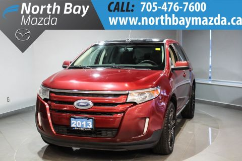 Certified Pre-Owned 2013 Ford Edge SEL Heated Front Seats + Back-Up Camera + Power Driver Seat AWD
