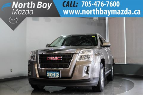 Pre-Owned 2012 GMC Terrain SLE-2 FWD with Heated Seats, Free Winter Tires