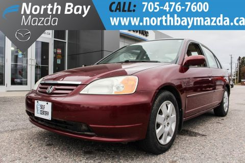 Pre-Owned 2002 Honda Civic Self Certify FWD 4dr Car