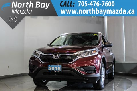 Pre-Owned 2016 Honda CRV LX AWD with Free Winter Tires! AWD