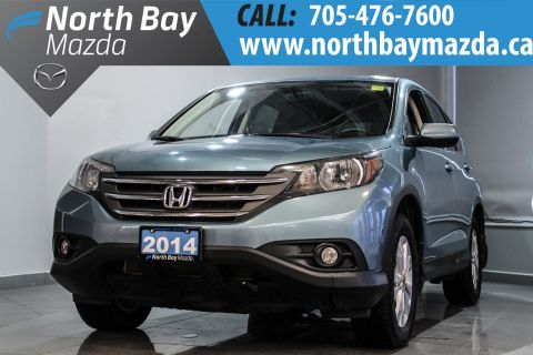 Certified Pre-Owned 2014 Honda CRV EX AWD + Sunroof + Back-Up Camera + Bluetooth AWD