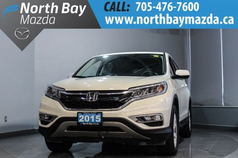 Pre-Owned 2015 Honda CRV EX-L AWD with Leather, Sunroof, Heated Seats AWD
