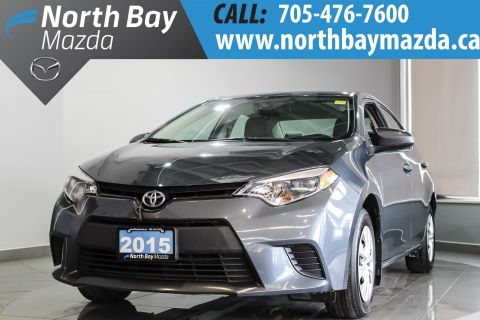 Pre-Owned 2015 Toyota Corolla CE with Auto Transmission, Bluetooth, A/C FWD 4dr Car