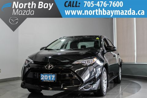 Pre-Owned 2017 Toyota Corolla LE Lease Return with Heated Seats, ECO Mode, Backup Cam FWD 4dr Car