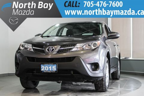 Certified Pre-Owned 2015 Toyota RAV4 - Best Value In The North! AWD