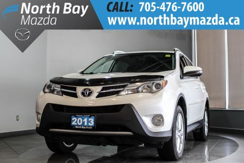 Pre-Owned 2013 Toyota RAV4 Limited With Bluetooth, Heated Seats
