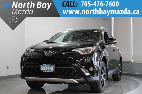 Pre-Owned 2016 Toyota RAV4 SE With AWD, Heated Seats, Bluetooth AWD