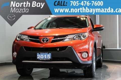 Certified Pre-Owned 2015 Toyota RAV4 XLE, AWD, $105 WEEKLY OAC! AWD