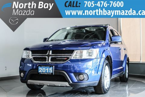 Pre-Owned 2015 Dodge Journey SXT 7 Pass with Winter Tires and Free Storage! FWD Sport Utility