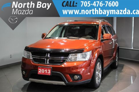 Pre-Owned 2013 Dodge Journey Leather Interior + Heated Front Seats + Heated Steering Wheel AWD