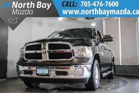 Certified Pre-Owned 2016 Dodge Ram 4X4 Crew Cab Short Box with Side Steps, Spray in Liner 4WD