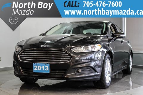 Certified Pre-Owned 2013 Ford Fusion SE Turbocharged 4 Cylinder 1.6 L Engine + Sync + Power Driver Seat FWD 4dr Car