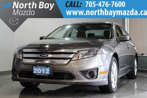 Certified Pre-Owned 2012 Ford Fusion SE 6 Speed Manual Transmission + Power Driver Seat + Sunroof FWD 4dr Car