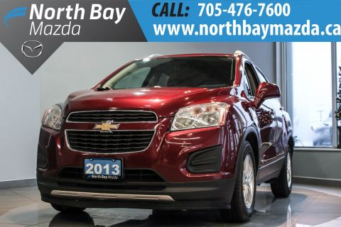 Certified Pre-Owned 2013 Chevrolet Trax LT Vincentric Award Winner FWD Sport Utility