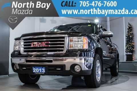 Certified Pre-Owned 2013 GMC Sierra SLT 5.3-Litre V8 + Leather Interior + Navigation 4WD