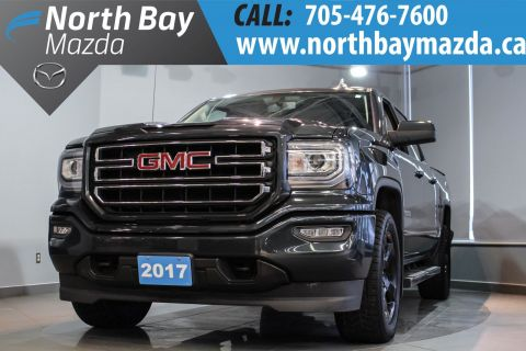 Certified Pre-Owned 2017 GMC Sierra 1500 SLE Elevation with Side Steps + Tonneau Cover 4WD