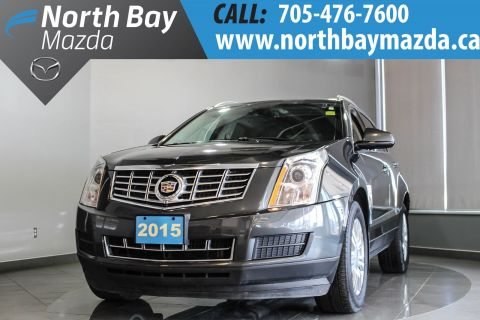 Pre-Owned 2015 Cadillac SRX Luxury with Leather, Pano Roof, Memory Seating AWD