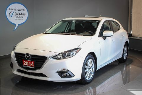 Certified Pre-Owned 2014 Mazda3 GS Sunroof + Heated Front Seats + Back-Up Camera FWD Hatchback