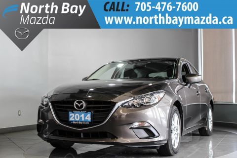 Pre-Owned 2014 Mazda3 Sport GS-SKY with Bluetooth, Heated Seats