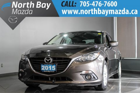 Pre-Owned 2015 Mazda3 Sport GS Automatic with Winter Tires, Heated Seats FWD Hatchback
