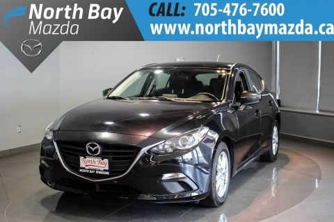 Certified Pre-Owned 2014 Mazda3 Sport GS-SKY Bluetooth + Cruise Control + Back-Up Camera FWD Hatchback