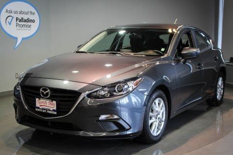 Certified Pre-Owned 2016 Mazda 3 Sport GS Ultra Low Kms + 6 Speed Manual FWD Hatchback