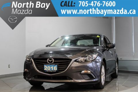 Pre-Owned 2016 Mazda3 GS with Winter Tires, Heated Seats, Bluetooth FWD 4dr Car