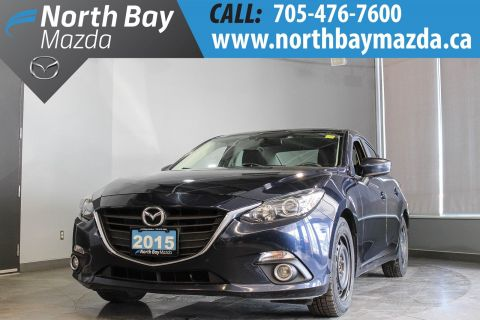 Pre-Owned 2015 Mazda3 GS with Two Sets of Tires and One Owner!