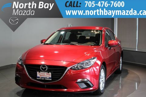 Certified Pre-Owned 2014 Mazda3 GS-SKY 6 Speed Manual + Back-Up Camera + Bluetooth FWD 4dr Car