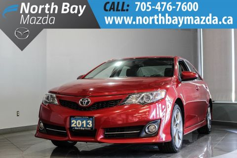 Pre-Owned 2013 Toyota Camry SE with Winter Tires, Leather Seats, Bluetooth FWD 4dr Car