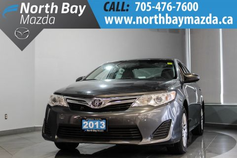 Pre-Owned 2013 Toyota Camry with Bluetooth, Rubber Mats, Touch Screen with Backup Cam!