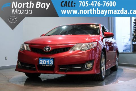Certified Pre-Owned 2013 Toyota Camry Navigation + Sunroof + Power Driver Seat FWD 4dr Car